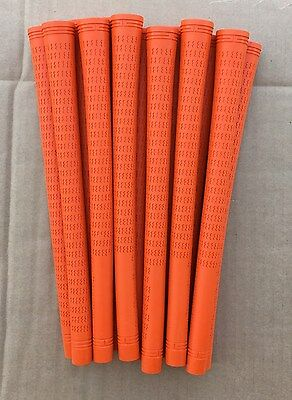 Low Price GRIP DEALS - 13 NEW Non Painted ORANGE Pure Pro UNDERSIZE Golf Grips
