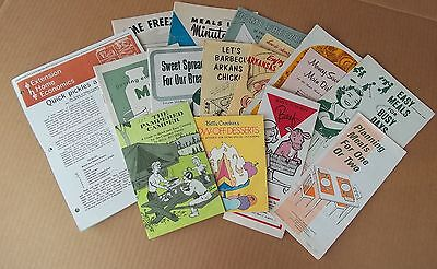Vintage Cooking And Food Manuals, Government, Arkansas, Group Of Sixteen