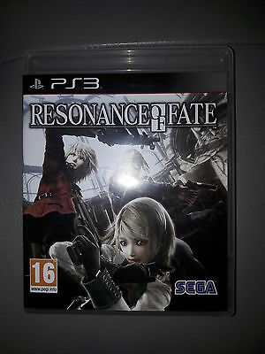 resonance of fate jeux complet ps3 comme neuf