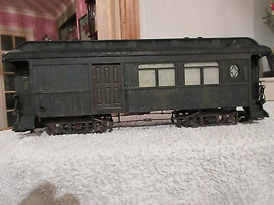 Vintage Us Trains Carriage Coach With Inside Lights Etc. For Repair Or Spares