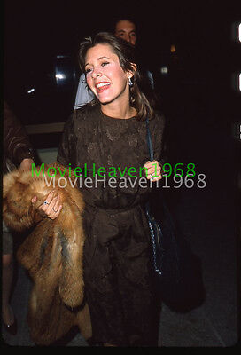 CARRIE FISHER  VINTAGE 35mm SLIDE TRANSPARENCY 9261 PHOTO
