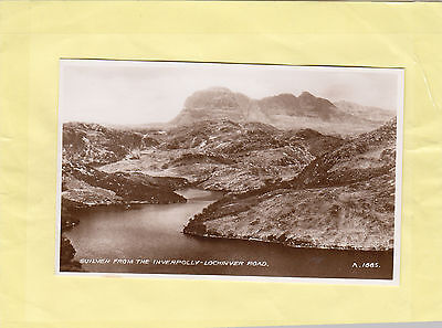 SUILVEN from INVERPOLLY  -    LOCHINVER  ROAD    SUTHERLAND  SCOTLAND  (M12)