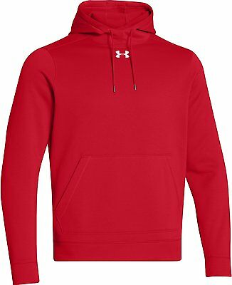 Under Armour 1259080-600 Storm Fleece Team Hoodie - Red - Large