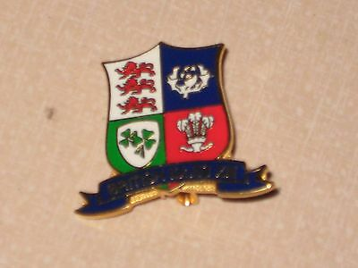 BADGE British Isles XIII Rugby League Blue Bottom