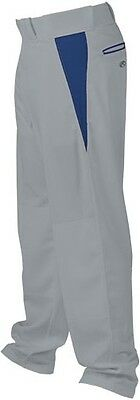 Rawlings BPVP Baseball Pant - Grey/Navy - XX-Large BPVP-Gry/Navy-2XL