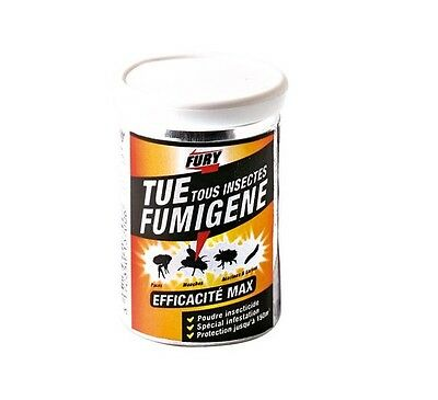 Fumigene Insecticide Infestation Insectes Volants Rampants 150 M3 Fury