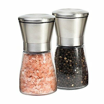 Mills Set Salt and Pepper Capacity 3/4 Cups 5x2.5 Inch by by Best Home Products