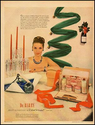 1950s vintage ad for Du Barry Cosmetics by Richard Hudnut -120911