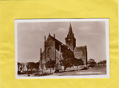 St  Magnus Cathedral  ,   Kirkwall   ,     Orkney      ,  Scotland  ( 7B )