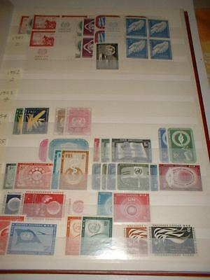 United Nations Collection 1951-1968, Very Fine Mint
