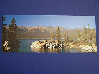 NEW Unused SAND HARBOR Lake Tahoe Calif. Panorama POSTCARD Beautiful View RARE