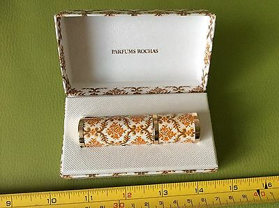 OLD RETRO VINTAGE 70s MADAME ROCHAS PERFUME BOTTLE ATOMIZER collectable IN BOX