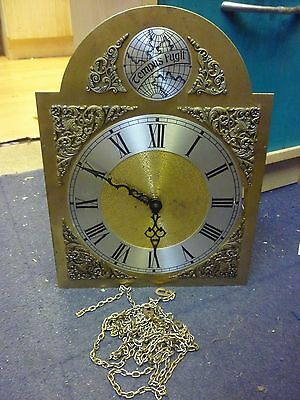 Urgos Tempus Fugit Grandfather Clock 3 Weight Driven Chimeing Movement Dial (68)