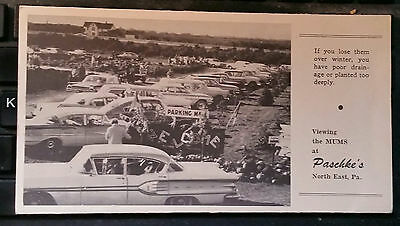Paschke S Farms North East Pa Erie Ca 1960 Mums Advertising Brochure