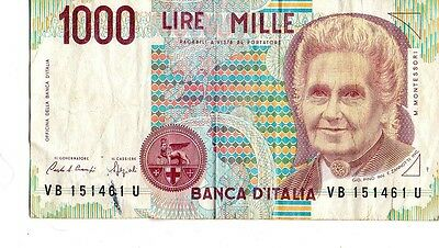 Italy 1990 1000 Lire Currency