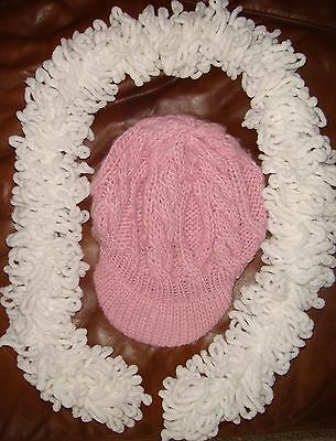 Childs Warm woolly hat and scarf