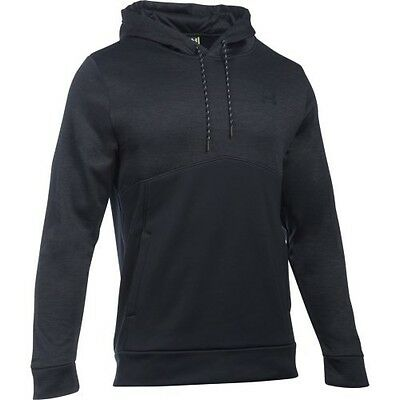Under Armour 1280750-001 Icon Twist Hoodie - Black/Black-Small