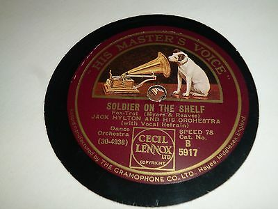 Collection of 6x JACK HYLTON Dance Band 78RPM Gramophone Records 71/17