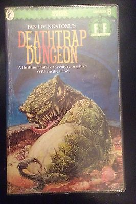 Deathtrap Dungeon Fighting Fantasy Ian Livingstone Book 6