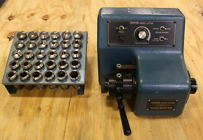 Overbeck Model Twister TL-1B Speed Lathe w/ Collet Set