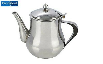 Pendeford Stainless Steel Teapot 2L Cookware Kitchen Home New