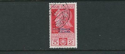 SOMALIA 1930 FRANCESCO FERRUCCI (Scott 118 5L+2L) VF USED