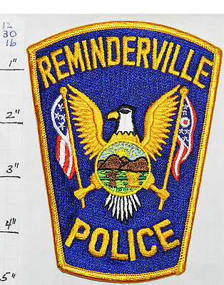 Ohio, Reminderville Police Dept Patch