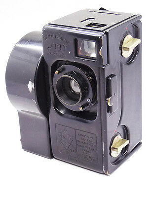 Debrie SEPT  35mm movie CAMERA  with two cassettes OPTIS lens