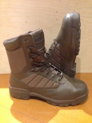 Size 10 genuine british issue brown bates patrol boots! New!