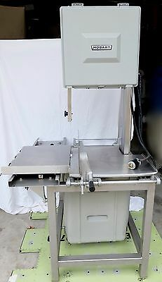 Hobart 5801 Meat Saw Phase 3 Commercial Cutting Butcher Meat Kitchen 200-230v