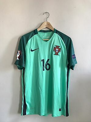 Maillot Stadium Away Portugal Sanches 16 Vapor Euro 2016 Neuf Taille M