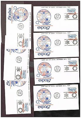 Canada Expo 67 Covers    (Ct27