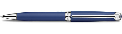 CARAN D'ACHE Leman Ballpoint Pen - BLUE NIGHT LACQUER - New - #4789.449
