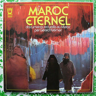 MAROC ETERNEL Arion Traditional Music from MOROCCO Afro Berber Arab lp