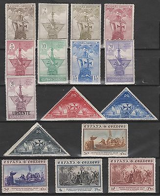 Spain 1930. Discovery Of America Complet Set. 147 €