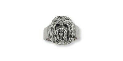 Havanese Jewelry Sterling Silver Ring Havanese Charms And Havanese Jewelry HV8-R