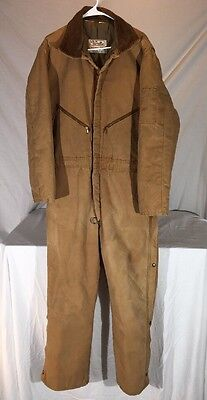 Vintage Walls Blizzard-Prif Insulated Coverall Jumpsuit Men's L Made in USA