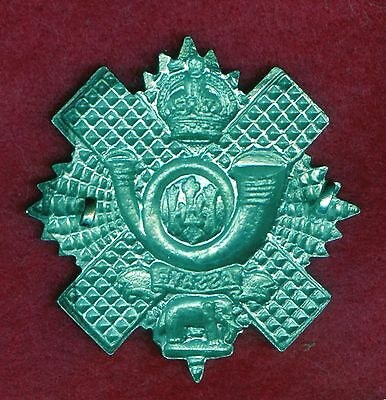 WW2 Great Britain Highland Light Infantry Cap Badge