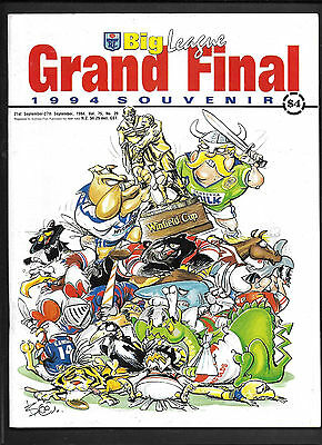 1994 NSW RL Big League Grand Final #2 - Free Postage