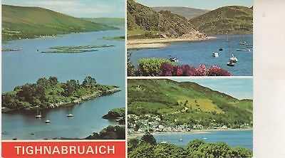Tighnabruaich. Multi-view postcard on  GC. Unwritten and Unposted