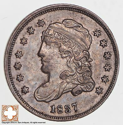 1837 Capped Bust Half Dime *2709