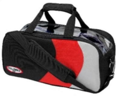 Columbia 2 Ball Shoulder Tote Bowling Bag Red