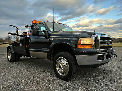 1999 Ford F550 4X4 Twin Line Self Loader Wrecker Tow Truck - Financing Available