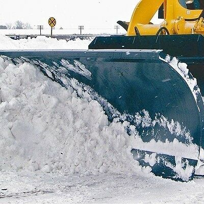 "Snow Blade 84"" Fits Large Skid Steers to 20,000 lbs,Hydraulic Angle 35 degrees"