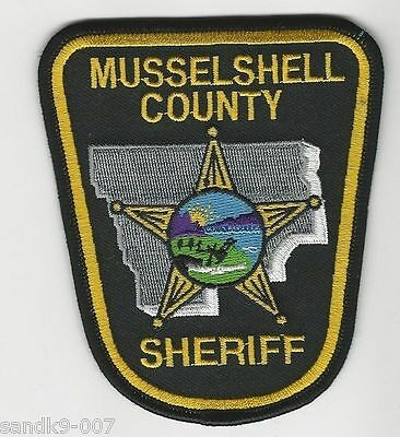 NEW Musselshell  County Sheriff State of MONTANA MT Shoulder Patch