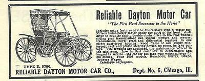 1909 Eureka Buggy Motor Car Co Ad// St Louis MO