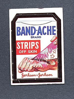 1967 Wacky Packages Die-Cuts #24 Band-Ache Strips VNG 117