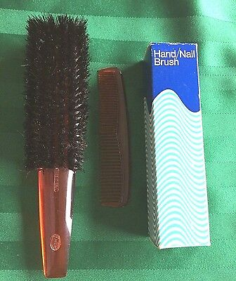Fuller Brush & Comb and Hand/Nail Brush in Box 3 Pieces