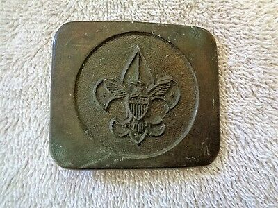 Vintage BSA Boy Scouts Of America Brass Belt Buckle