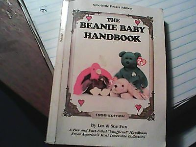 Collectable The Beanie Baby Handbook 1998 Edition